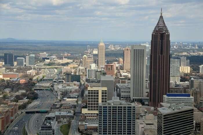 City view of Georgia