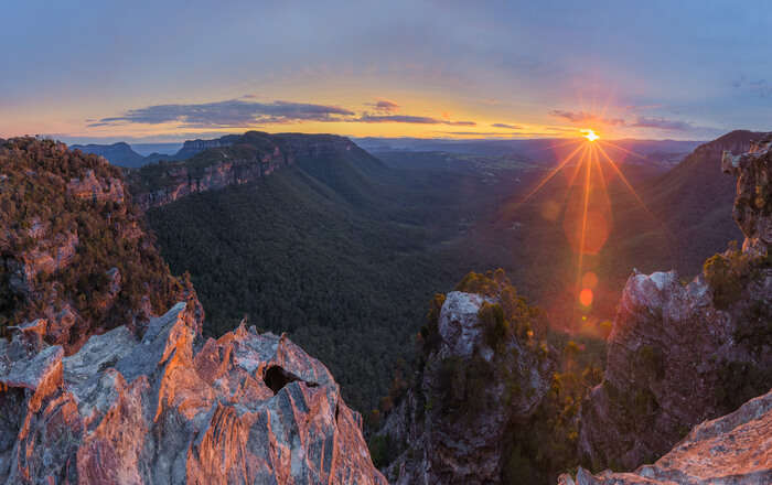The Light of Blue Mountains