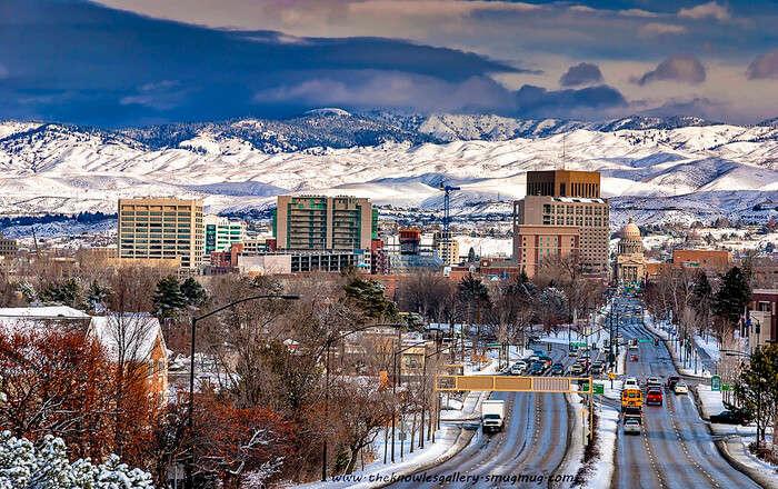 Boise city view