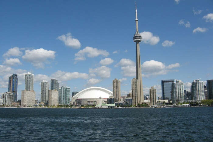 Attraction Cn Tower Toronto Architecture Canada