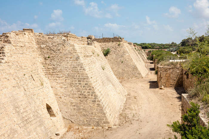 major archeological port city Fortress