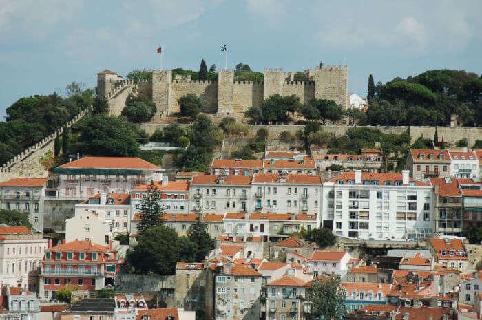Castelo de Santa Clause Maria da Feira