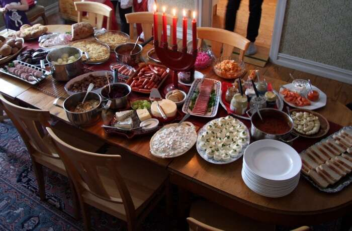 Christmas In Saint Petersburg Food