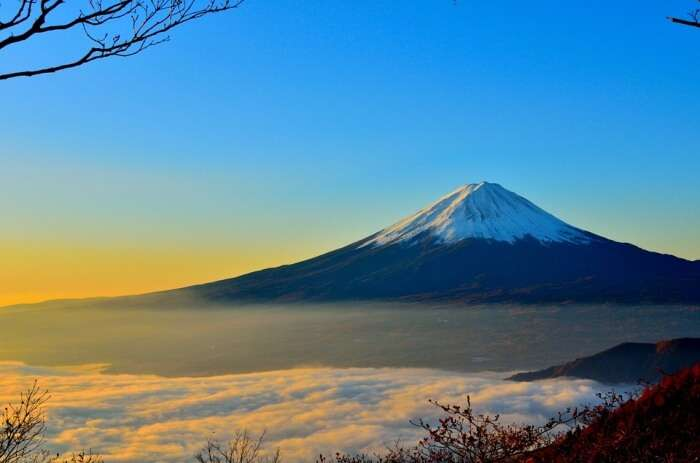 Climb the enormous Mt. Fuji