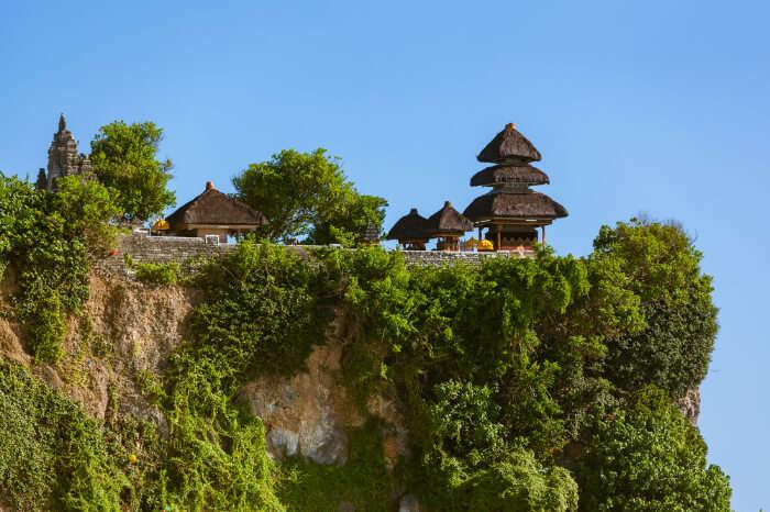 Uluwatu Temple in Bali, Indonesia
