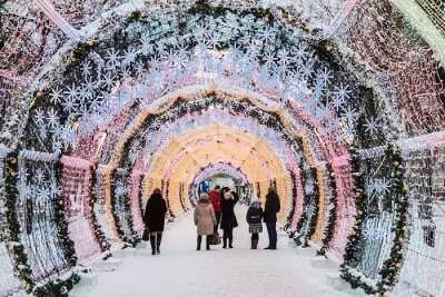 Best New Year in Moscow