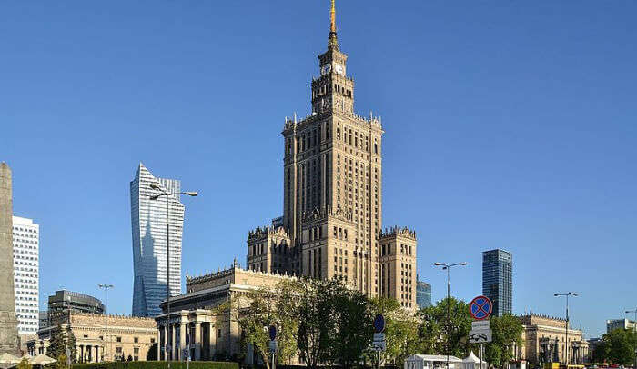 Culture and Science Museum in Warsaw