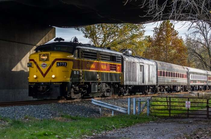 Cuyahoga Valley National Park Rail
