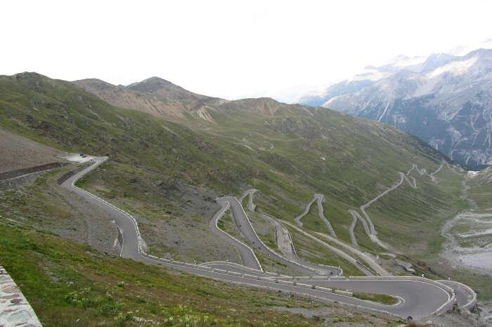 Davos to Stelvio Pass