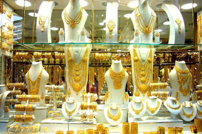 Dubai Gold Souk in Dubai