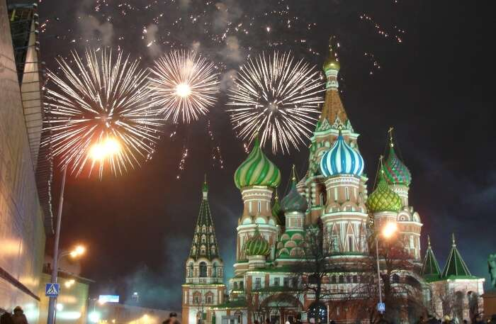 Enjoy The Festive Season Of Moscow