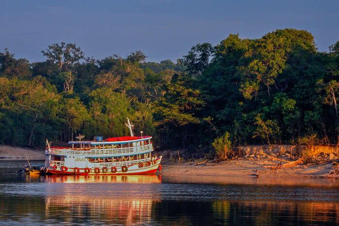 cruise in the Amazon