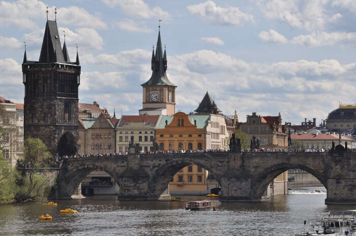 Experience The Fog At Charles bridge