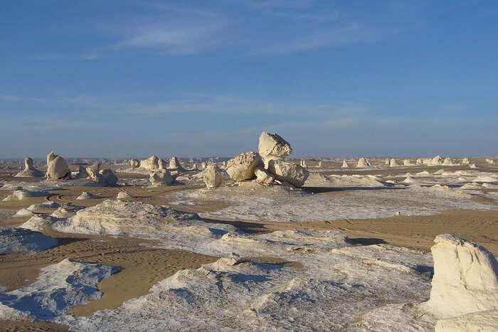 Landscape Desert white