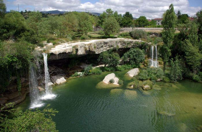Falls in Pedrosa de Tobalina