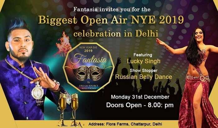 Famous Delhi New Year event