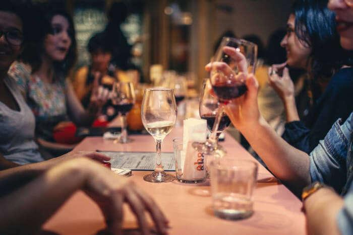 People enjoying Alcohol