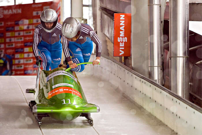 Go Bobsleighing