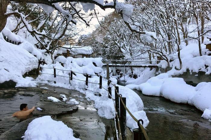 Go to Takaragawa Onsen