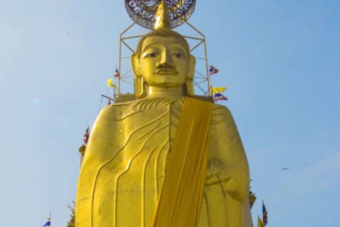 World's largest golden statue of Buddha in Thailand