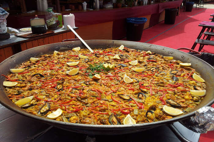 popular dish in Barcelona