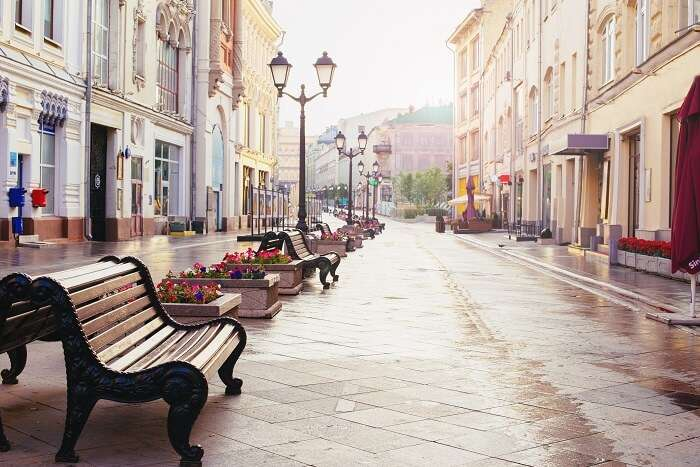 Homestay central moscow