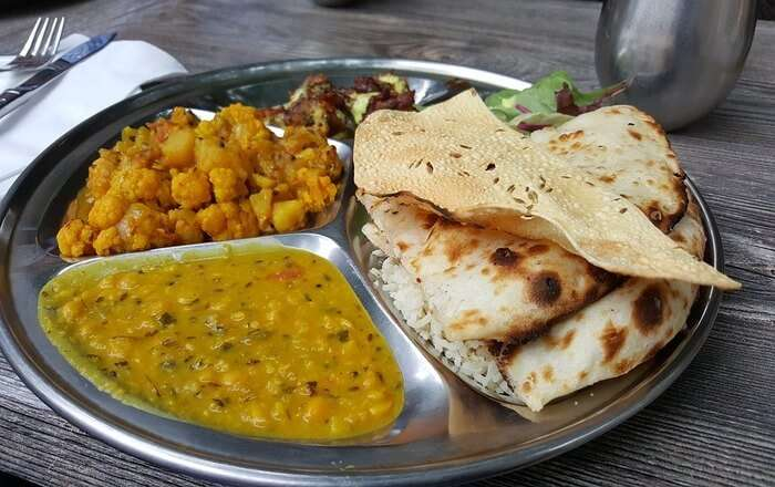 Dal and Chapati