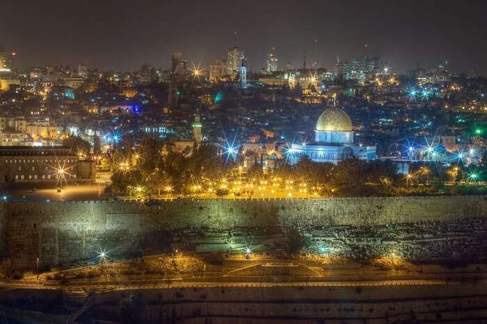 Beautiful view of Israel