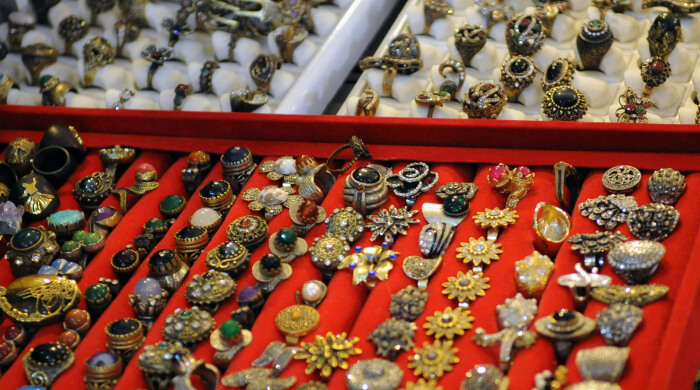 Jewelry in Uçhisar