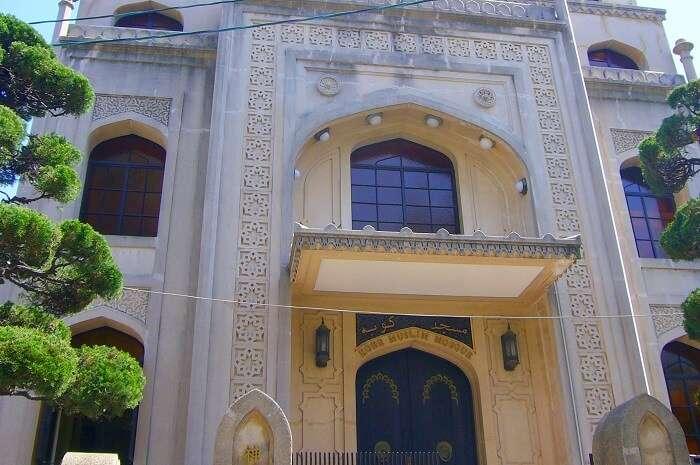 Kobe Mosque in Japan