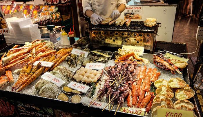 Kuromon market