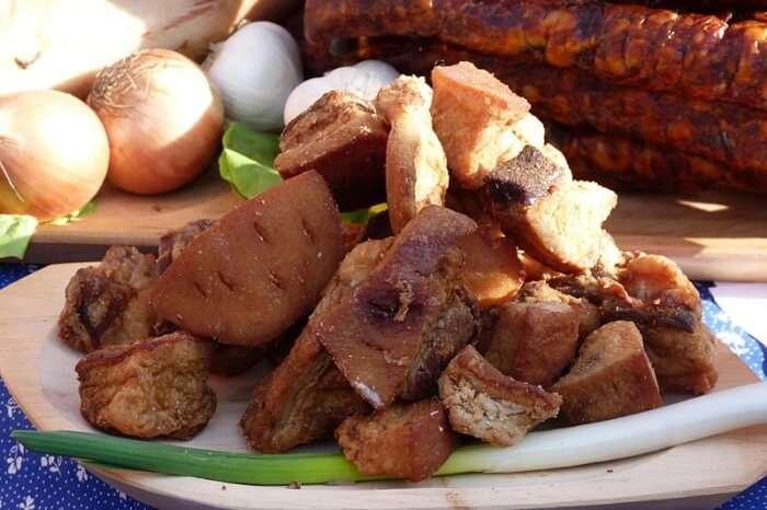 Mangalica Salami