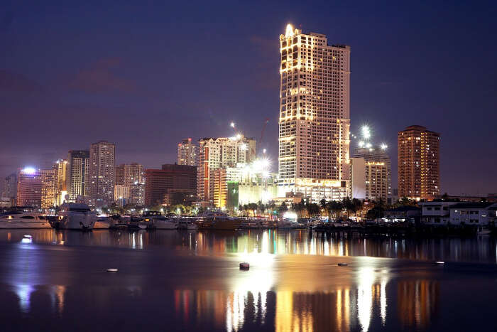 Manila Bay At Night