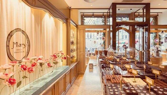 Mary Chocolatier In Brussels