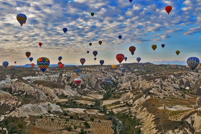 Maybe more of explore, Cappadocia