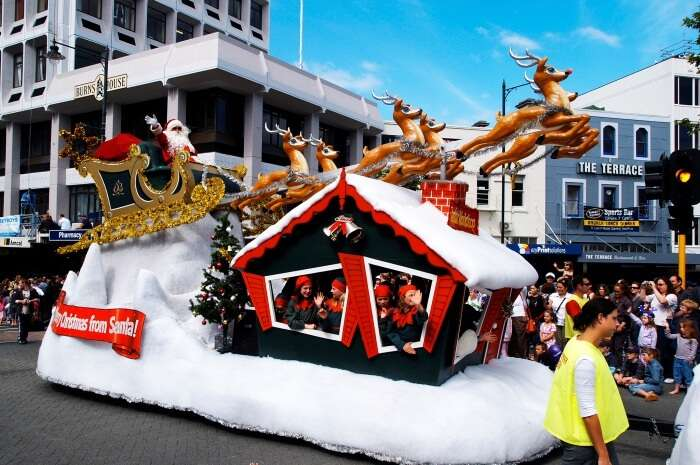 Santa Claus Parade Dunedin New Zealand
