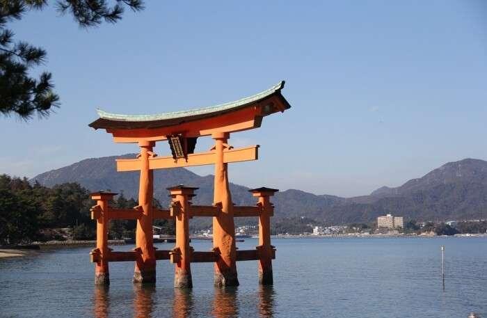 Miyajima Large Torii Japan