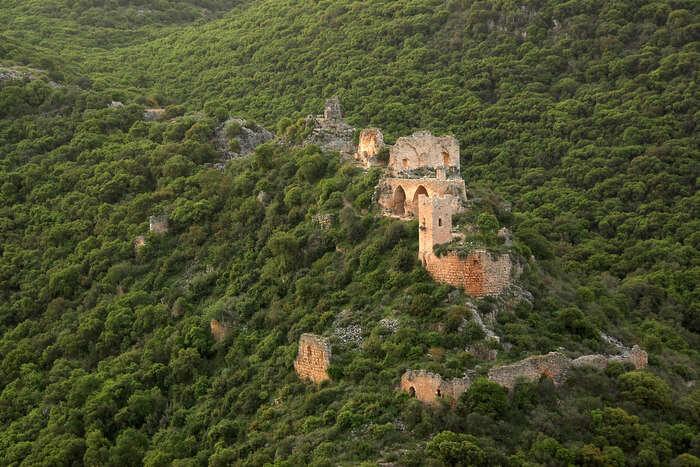 13th century Montfort Castle