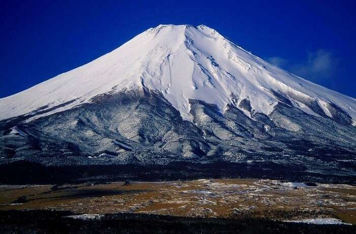 highest active volcanic mountain in Japan