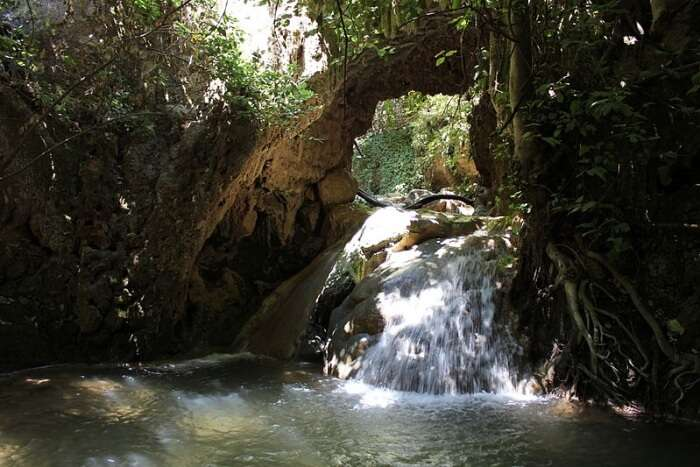 Nahal Amud Waterfall