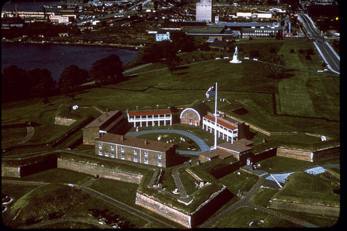 National Monument Of Fort McHenry