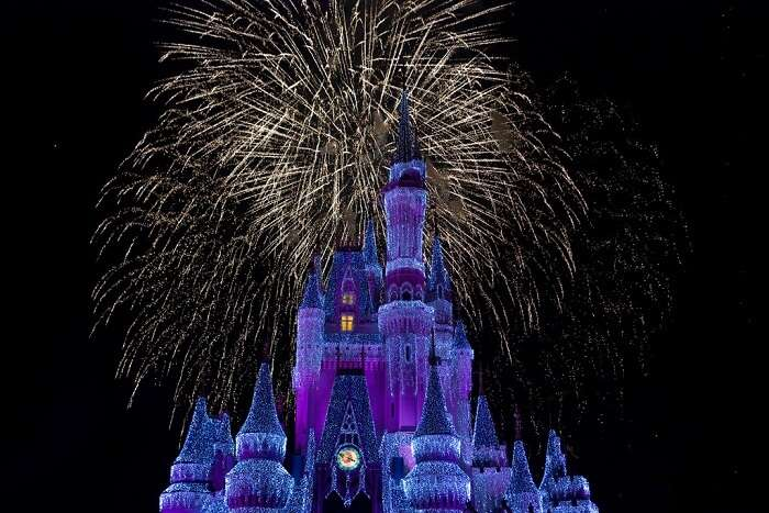 New Year's Eve in Walt Disney Resort