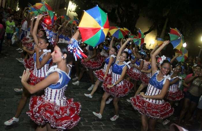 New Year Celebration in Brazil