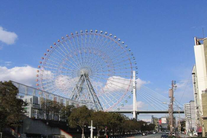 Tempozan ferris wheel, Japan