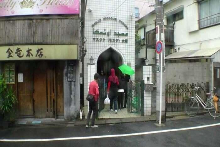 Otsuka Mosque front gate
