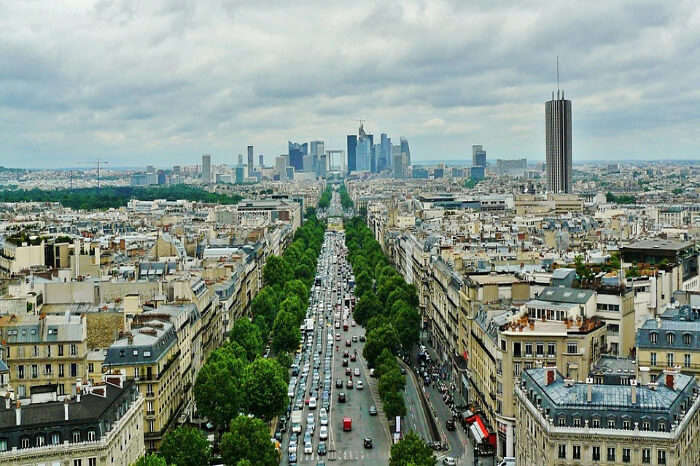 Paris to Zurich