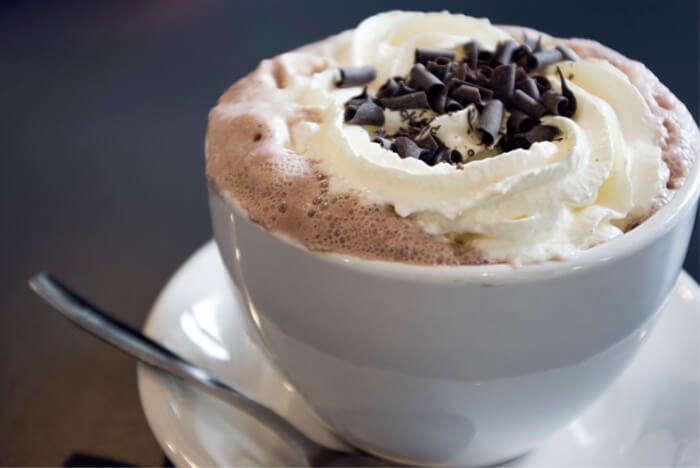 Participate in the Hot Chocolate Festival