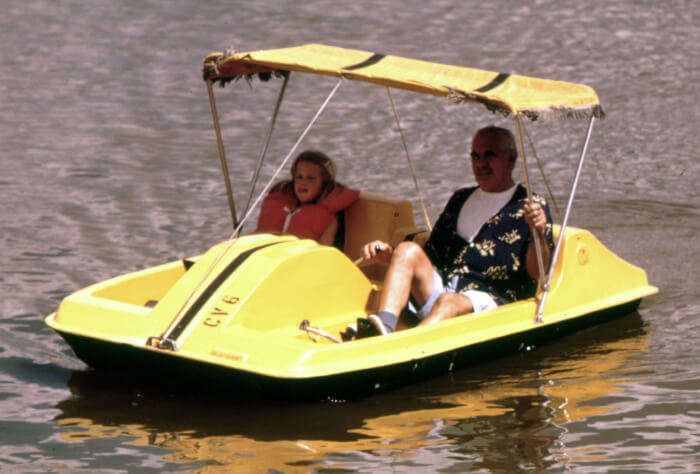 Pedal Boating