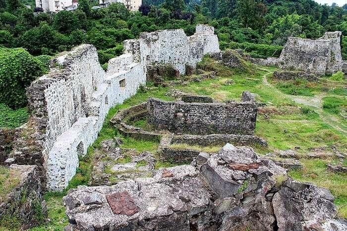 Petra fortress in Georgia
