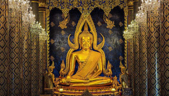 famous Buddha statue